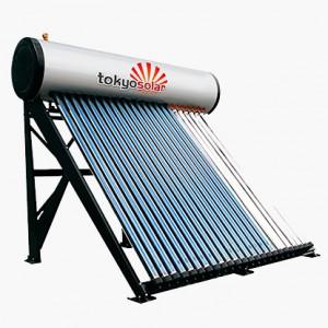 Nyomásos napkollektor rendszer